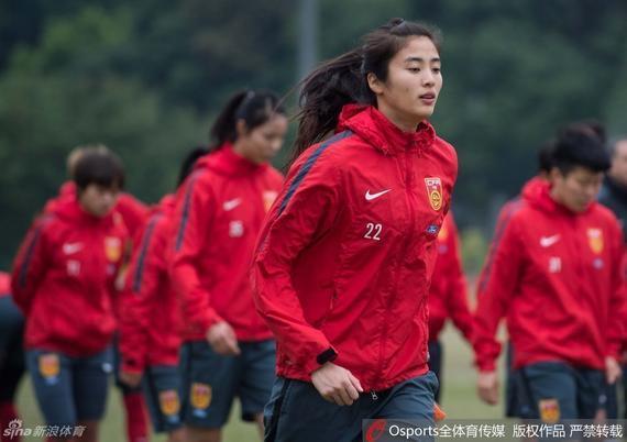 女足在广州集训备战