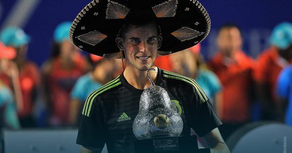 墨西哥赛蒂姆赢得90后青春对决 首获500赛男单桂冠
