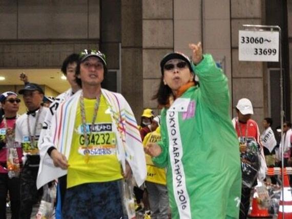 59岁大妈成东京马拉松志愿者 盼服务东京奥运会