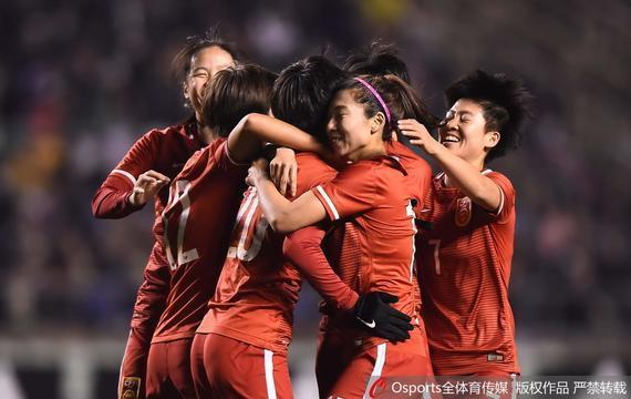 国家女足打败日本女足