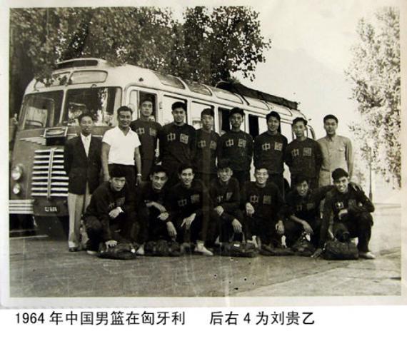 1964年国家男篮在匈牙利