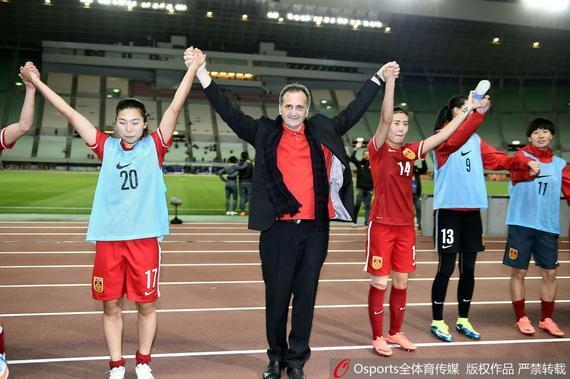 国家女足正式进军里约奥运会