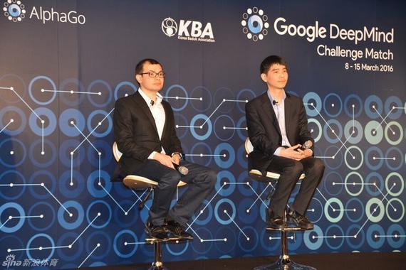 李世石VS谷歌 第一局就是决战