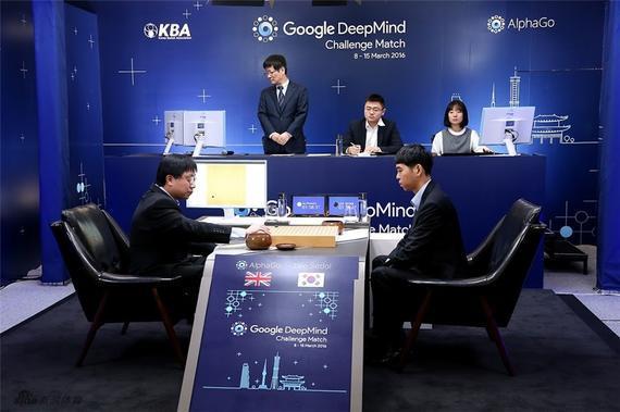 谷歌围棋胜李世石