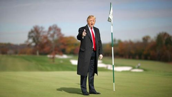 共和党总统提名人特朗普