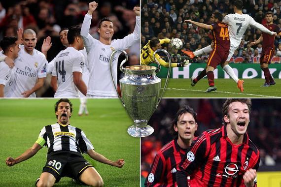 C罗欧冠刷进球创超强纪录:61场破门 梅西排第3
