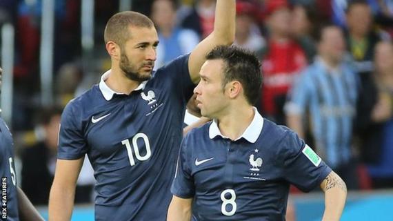 本泽马能够代表法国出战了