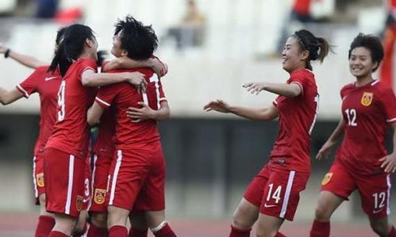 中国女足进军里约奥运会