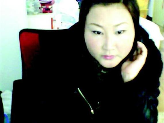韩文娟瘦身前。