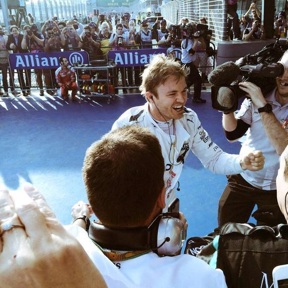 2016F1澳洲站罗斯博格夺冠