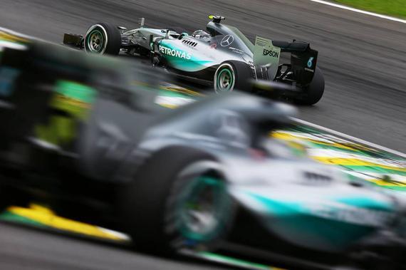 2017版F1赛车圈速提高3秒