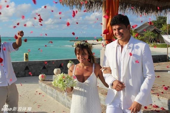 埃尔克森其时的婚礼现场