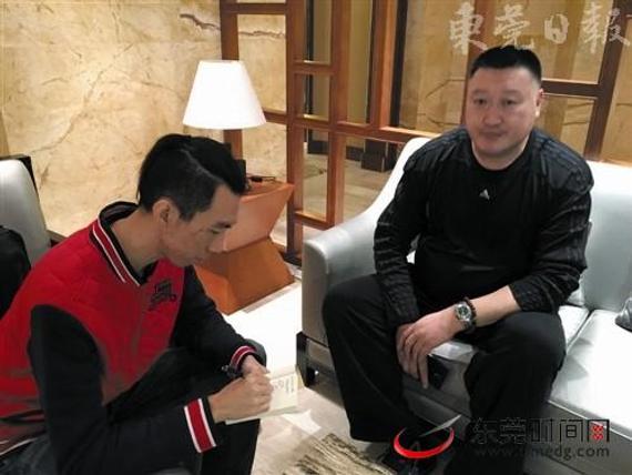 杨学增接受采访