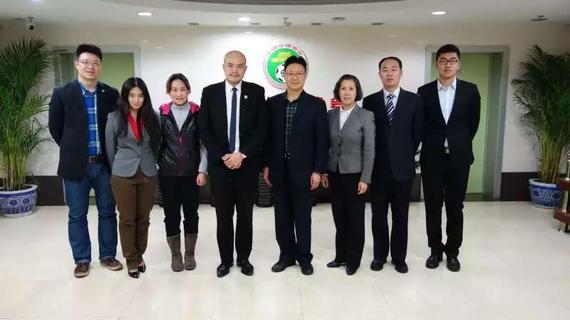 中国足协专职执委在京会见法国足协国际发展部主任