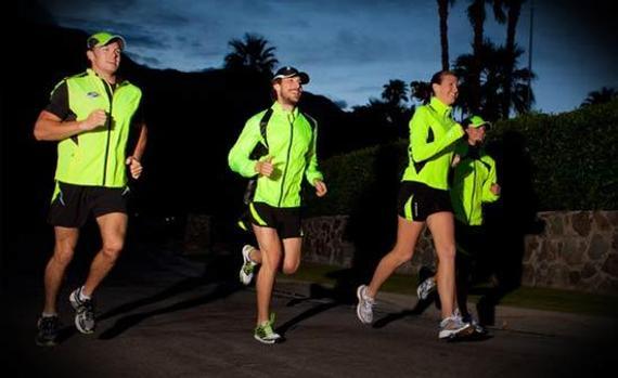 夜跑精确方法