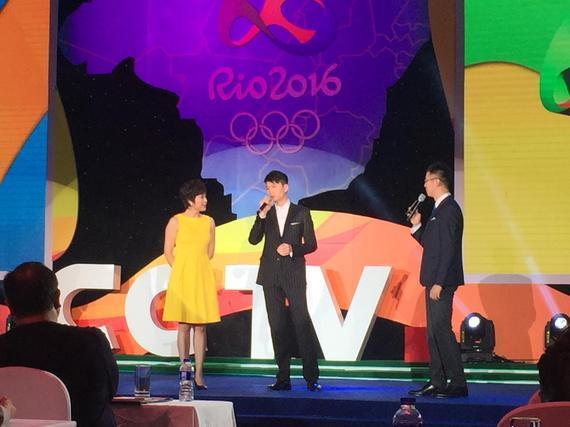 """八月,里约,看央视! 伟杰邀您共同见证""""奥运传奇"""""""