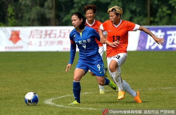 广东女足在重重苦难中开启了她们的新赛季