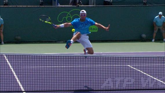 特洛伊基跨网击球