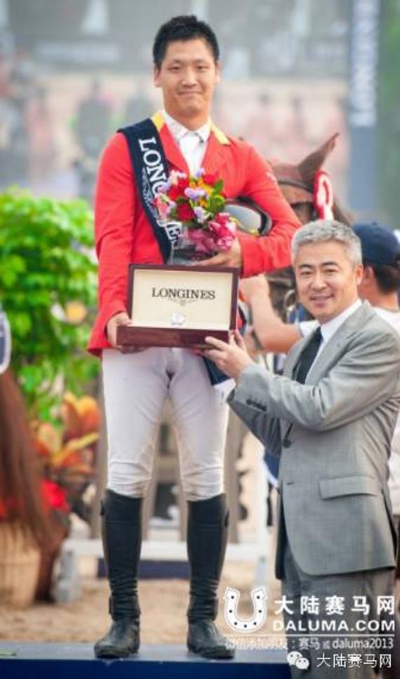 2015 FEI世界杯中国区总冠军赵志文