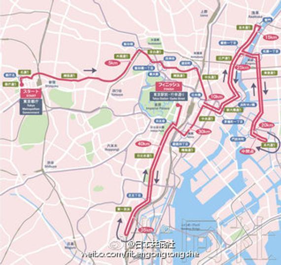 2017东京马拉松新路线