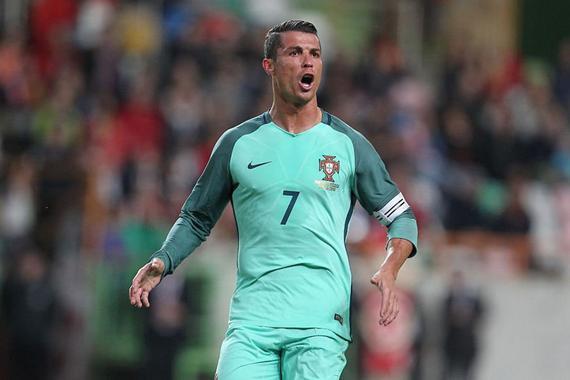 热身-C罗破门弟弟助攻小魔兽 葡萄牙2-1比利时