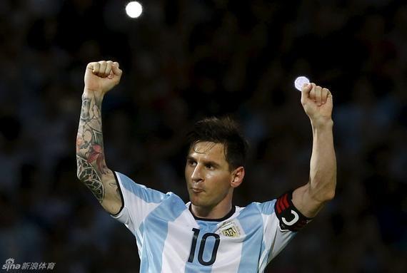 梅西率领阿根廷夺得北京奥运会金牌