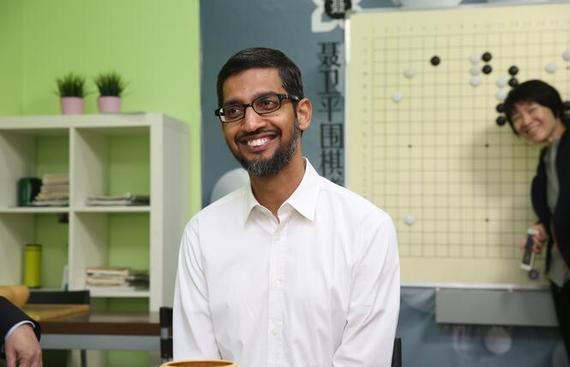 谷歌CEO桑达尔·皮查伊(Sundar Pichai)