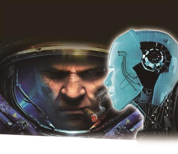 《星际争霸2》的宣扬画。
