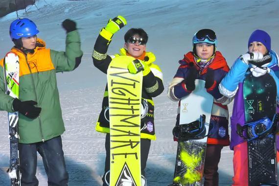 """滑雪竞速""""国家队""""四位成员"""