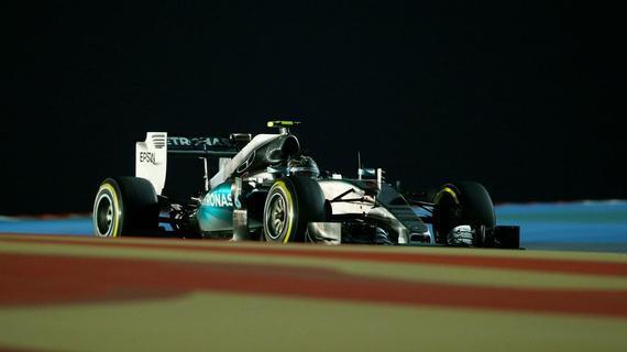 F1巴林站排位赛成绩表