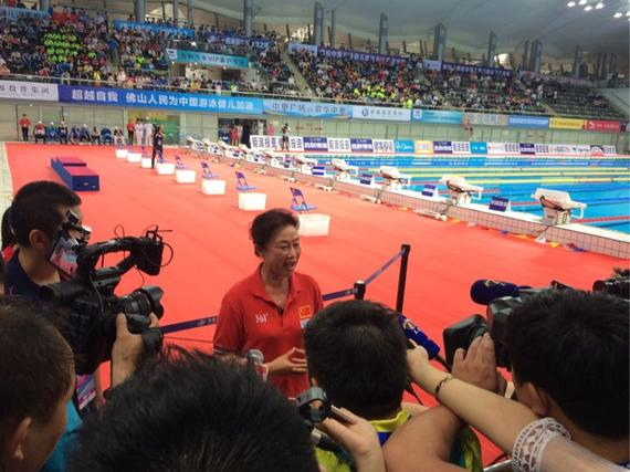 叶瑾表示宁泽涛决定退赛