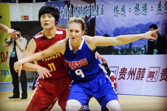 亚特拉斯杯系列赛余庆站,中国国青女篮再负美国。