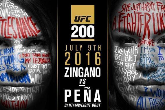 辛加诺将在UFC200中对阵佩娜