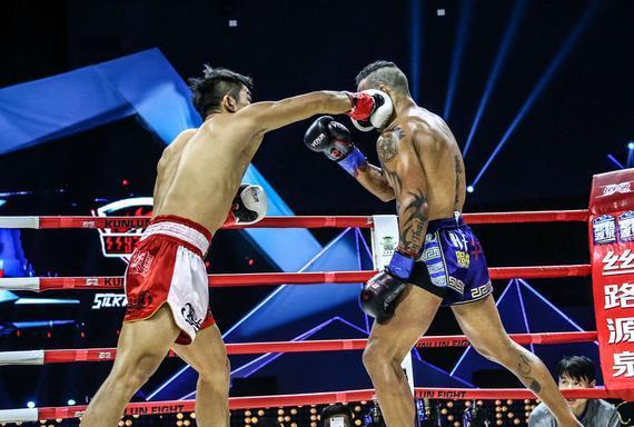 中国搏击新星ko世界名将创历史 昆仑决经典再现