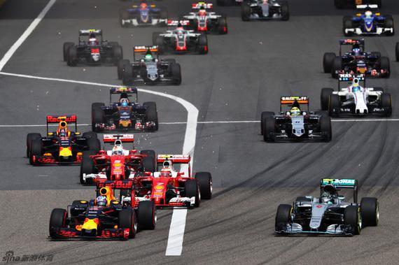 F1中国站罗斯博格夺冠 维泰尔亚军莱科宁第五