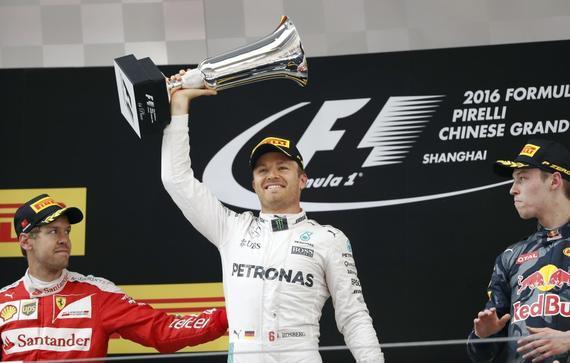 2016年F1中国站关键词 瓦片最佳罗斯伯格幸运