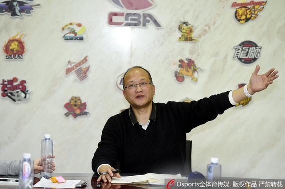 CBA联赛办公室主任张雄