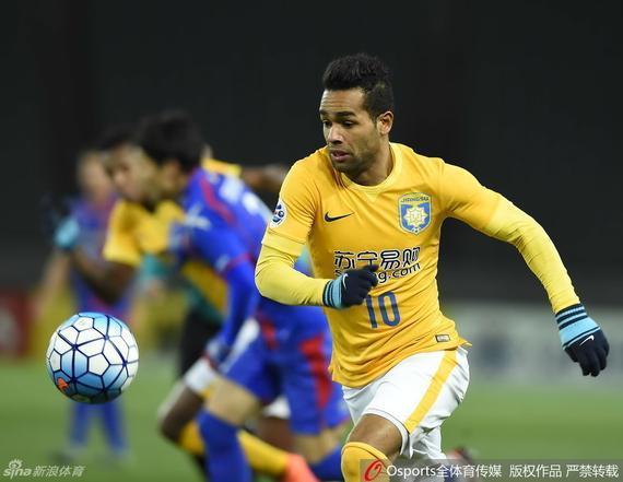 特谢拉是众多来华淘金的巴西球员之一