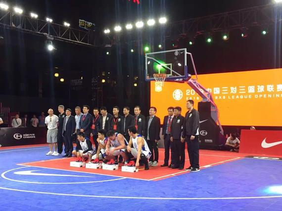中国三对三魅力联赛正式参赛CBA青年队启动街舞视频篮球图片