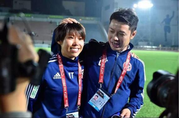 中国香港男足联赛女教练陈婉婷当选亚足联年度最佳女教练