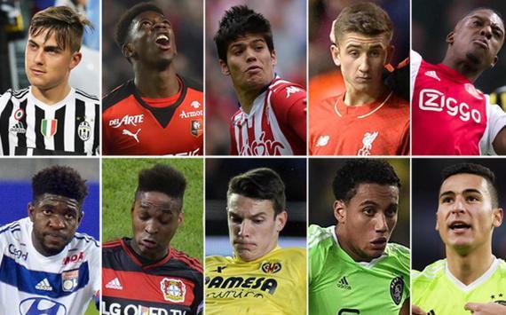 每日体育报曝光了巴萨目前跟踪观察的10名青年才俊