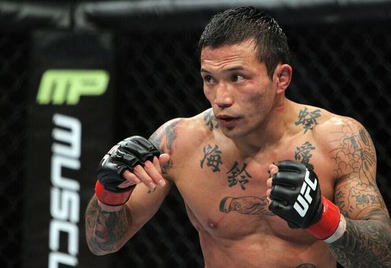 日本名将山本徳郁出战UFC