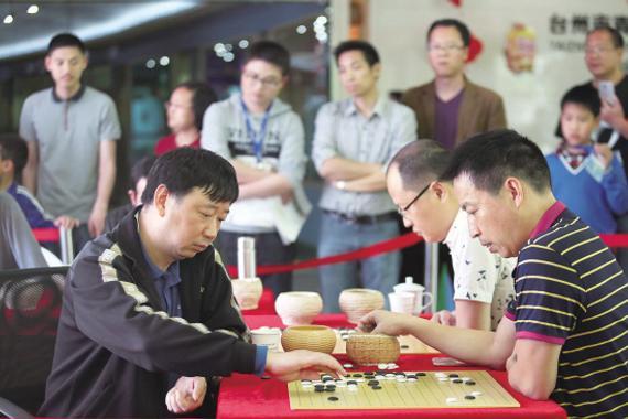 俞斌领导官方棋手