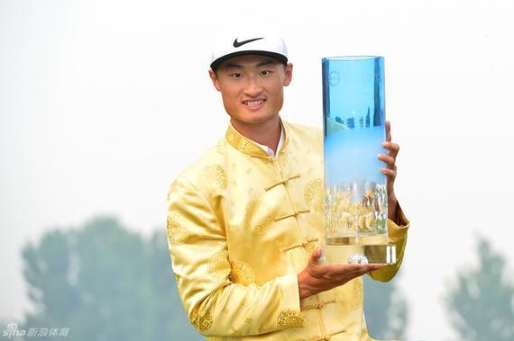 李昊桐加冕中国公开赛冠军