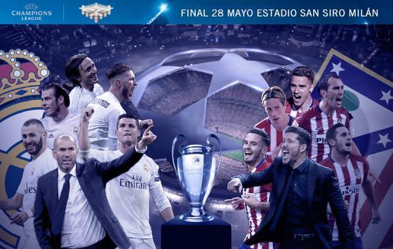 2016年欧冠决赛――马德里德比!