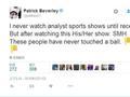 开撕!黑贝怒喷ESPN女记者:你们从来没碰过篮球
