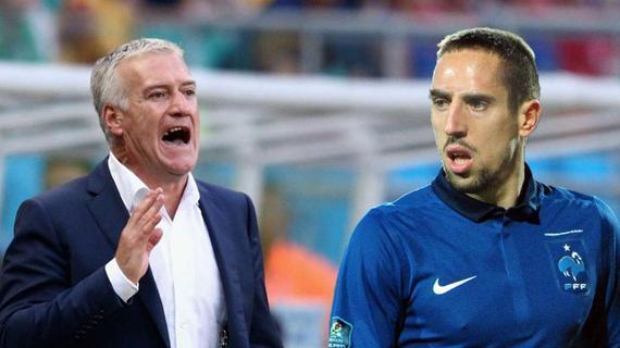 德尚谈到了里贝里落第欧洲杯台甫单