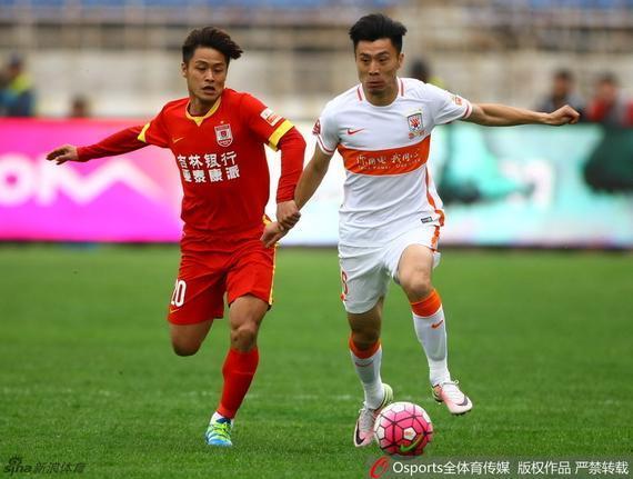 刘彬彬错失良机 鲁能客场0-0亚泰4轮不胜