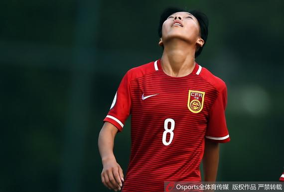 中国U14女足无缘亚锦赛四强