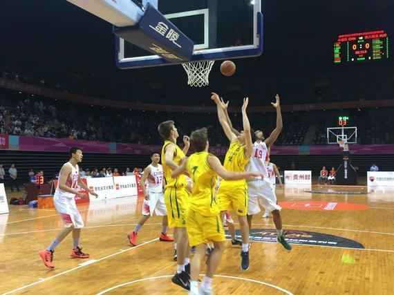 U18国青男篮胜澳大利亚队